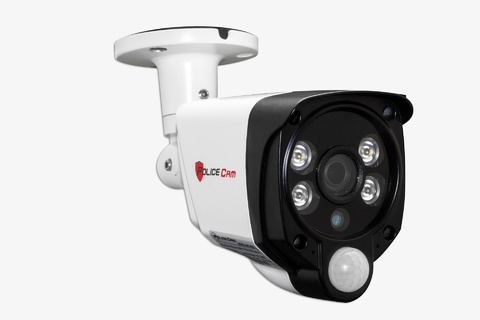 Уличная IP видеокамера PoliceCam IPC-625 L PIR+LED IP 1080P